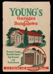 Young's Garages and Bungalows, E.C. Young Co., Randolph, Mass.