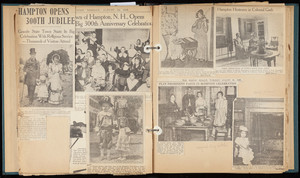 Hampton, New Hampshire, Tercentenary Scrapbook