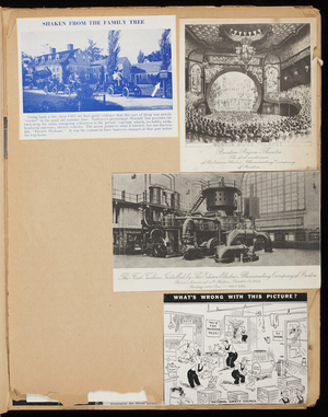 Boston Edison scrapbook