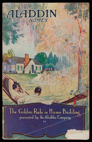 Aladdin homes, The Aladdin Company, Bay City, Michigan