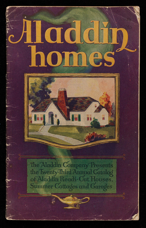 Aladdin homes, 23rd annual catalog, The Aladdin Company, Bay City, Michigan