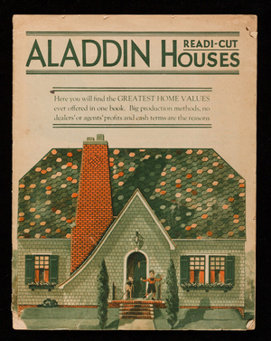 Aladdin Readi-Cut Houses, catalog no. 43, The Aladdin Company, Bay City, Michigan