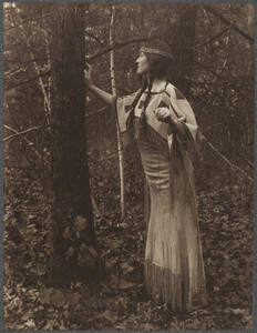 Jane Adams Patterson wearing Sioux Indian costume