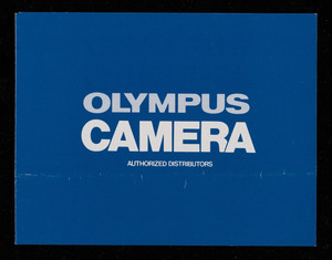Olympus Camera authorized distributors, Olympus Optical Co., Ltd., San-Ei Building, 22-2, Nishi-Shinjuku 1-chrome, Shinjuku, Tokyo, Japan