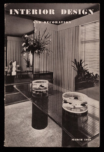 Interior design and decoration, vol. 12, no. 3, The Decorators Digest, Inc., 30 Rockefeller Plaza, New York, New York