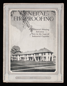 General fireproofing, vol. 4, no. 5, May 1920, General Fireproofing Company, Youngstown, Ohio