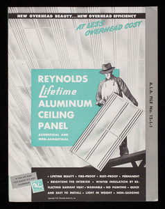 Reynolds Lifetime Aluminum Ceiling Panel acoustical and non-acoustical, Reynolds Metal Co., Inc., Louisville, Kentucky