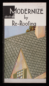 Modernize by re-roofing, Bird & Son, Inc., East Walpole, Mass.
