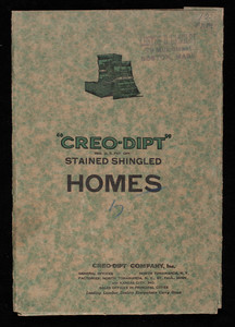 Creo-Dipt Stained Shingled Homes, Creo-Dipt Company, Inc., North Tonawanda, New York
