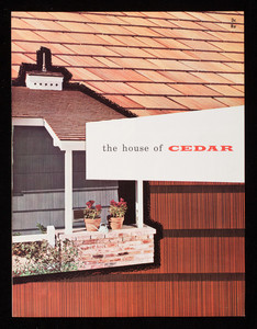 House of cedar, Red Cedar Shingle Bureau, Seattle, Washington