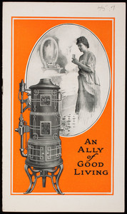 Ally of good living, Pittsburg-Bungalow Automatic Gas Water Heaters, Pittsburg Water Heater Co., Pittsburgh, Pennsylvania