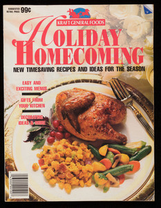 Holiday homecoming, new timesaving recipes and ideas for the season, Kankakee, Illinois, Kraft General Foods, Des Moines, Iowa, Meredith Corp.