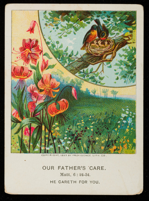 Our father's care, vol. 18, no. 1, part 6, first quarter, February 6, 1898, American Baptist Publication Society, Philadelphia, Pennsylvania, 1898