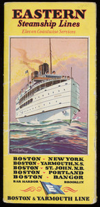 Eastern Steamship Lines, Old Dominion Line timetables