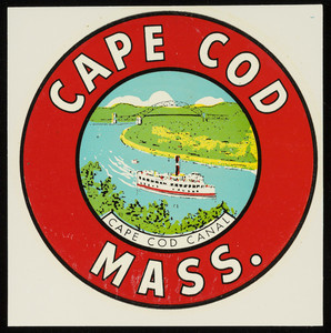 Cape Cod Canal decal