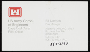 Business card for Bill Norman