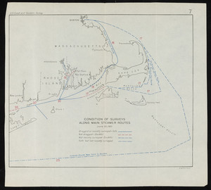 Condition of Surveys along Main Steamer Routes