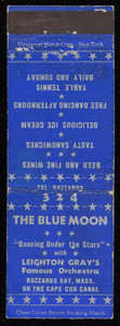 The Blue Moon matchbook cover