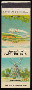 Cape Cod souvenir matchbook cover