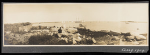 Panoramic view of Marion, Mass., August, 1909.