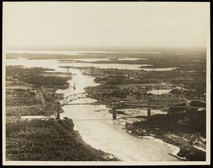 An aerial view of the Cape Cod Canal