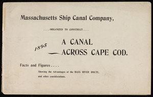 """A Canal Across Cape Cod"""