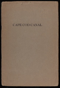 """""""Cape Cod Canal"""""""