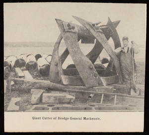 The cutter of the dredge General Mackenzie