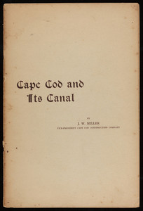 """""""Cape Cod and Its Canal"""""""
