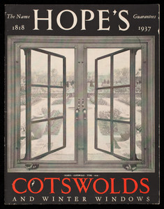 Hope's Cotswolds and winter windows, publication no. 49, Hope's Windows Inc., Jamestown, New York