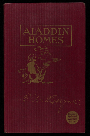 Aladdin Homes built in a day catalog no. 28, North American Construction Company, Bay City, Michigan