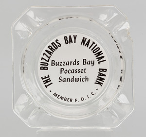 Ashtray: Buzzards Bay National Bank