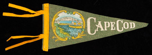 Pennant: Cape Cod (small, green and yellow)