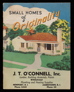 Small homes of originality, National Plan Service, Inc., Chicago, Illinois, 1946