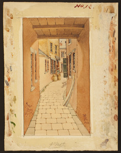 Salt Lane Alley, 1930