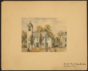 The Old Church, Brighton, Mass., built in 1744