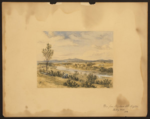 """""""View from Bigelow's Hill, Looking West."""""""