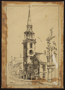 Old South Church, Washington Street, Boston, Mass., 1887