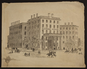 Revere House Hotel, Bowdoin Square, Boston, Mass., undated