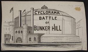 Cyclorama, Battle of Bunker Hill, Tremont Street, Boston, Mass., 1888-1899