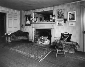 Dodd-Flagg House, Washington St., Hartford, Conn., Parlor.