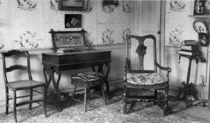 David Reed House, Benton Falls, Me., Parlor..