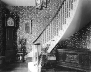 Alexander Wadsworth Longfellow House, 37 South St., Portland, Me., Entrance Hall..