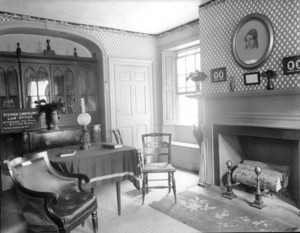 Alexander Wadsworth Longfellow House, Portland, Me., Parlor..