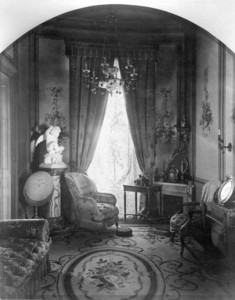 Interior view of the Gardner Brewer House, dressing room, 29 Beacon St., Boston, Mass., undated
