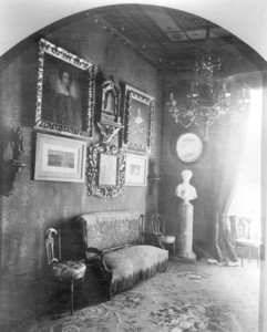 Interior view of the Gardner Brewer House, hallway, 29 Beacon St., Boston, Mass., undated