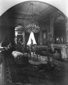 Interior view of the Gardner Brewer House, parlor, 29 Beacon St., Boston, Mass., undated
