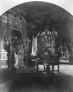 Interior view of the Gardner Brewer House, dining room, 29 Beacon St., Boston, Mass., undated