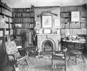 Governor Andrew House, library, 110 Charles Street, Boston, Mass.