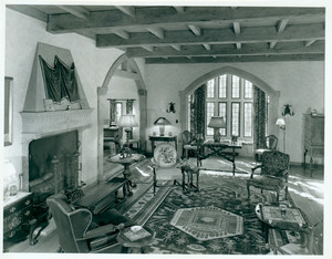 E.M. Major House, parlor, Drumlin Rd., Newton Center, Mass., 1946